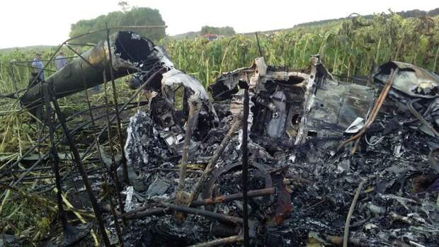 На Камчатке нашли сгоревший вертолет Ми-2. События дня