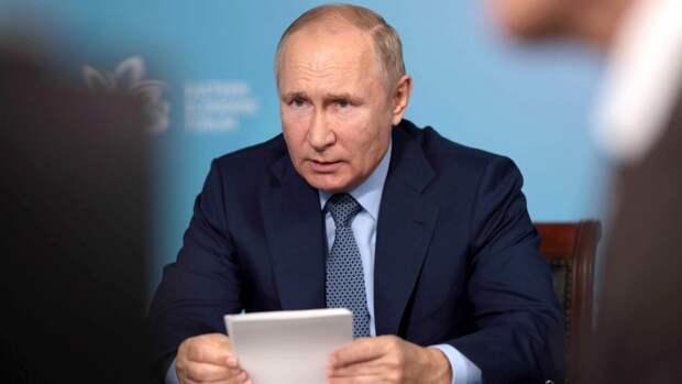Путин: экономика России восстановилась после пандемии коронавируса