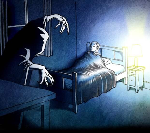10 фактов о самых распространённых ночных кошмарах ●