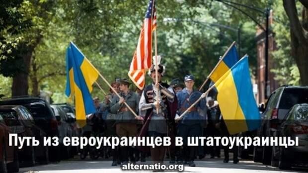 Путь из евроукраинцев в штатоукраинцы