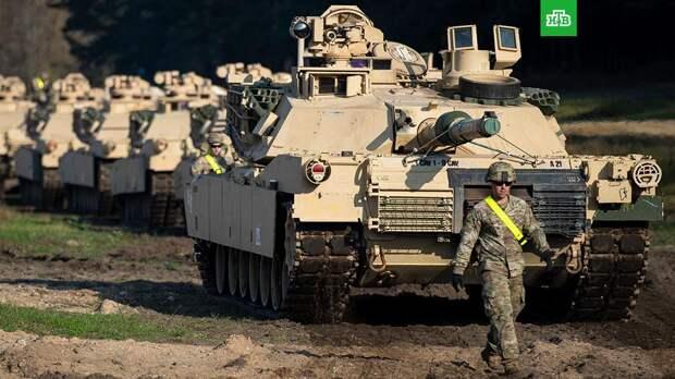 Белоруссия зафиксировала переброску танкового батальона США в Литву