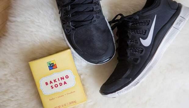 Чтобы нейтрализовать запах в кроссовках