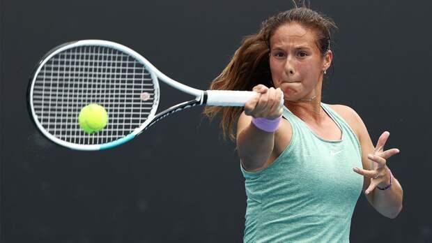 Россиянка Касаткина победила белоруску Саснович и вышла в четвертьфинал турнира в Санкт-Петербурге
