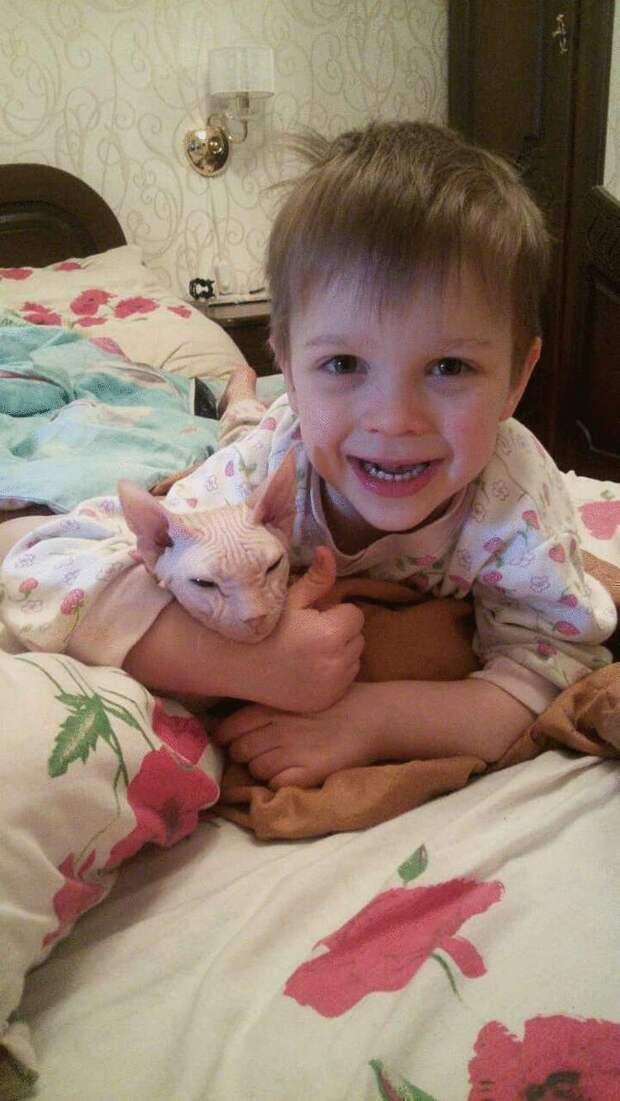 Маленький мальчик с большим сердцем