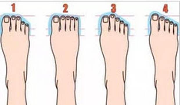Вот о каких секретах личности может рассказать форма ноги...