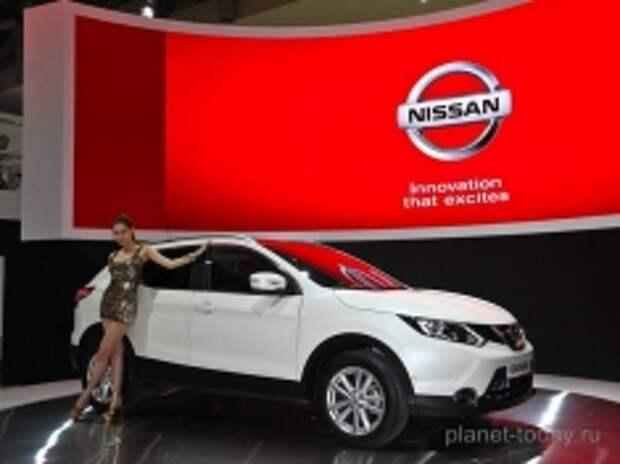Nissan начнет выпуск кроссовера «Qashqai» в Санкт-Петербурге в 2015 году