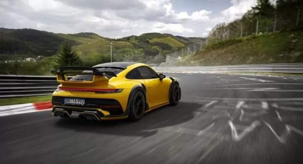 Тюнеры из TechArt представили доработанный Porsche 911 Turbo