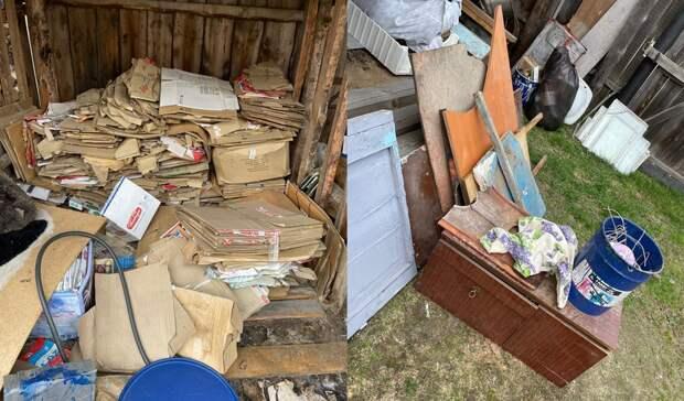 Вывести строительный мусор с участка около Тюмени стоит уже 5 – 6 тысяч рублей
