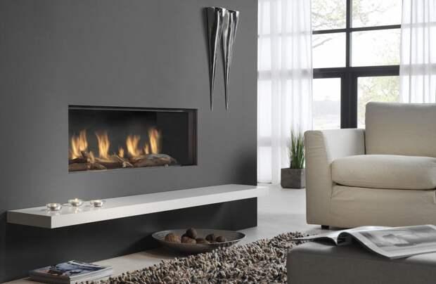 Дизайн гостиной в черно-белых тонах: современные варианты (81 фото)