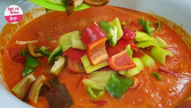 Перепробовала много рецептов «Лечо» из перца с помидорами на зиму, но этот самый лучший