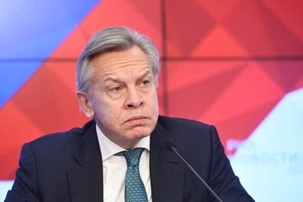 Пушков резко ответил на слова Кулебы о нецивилизованной России