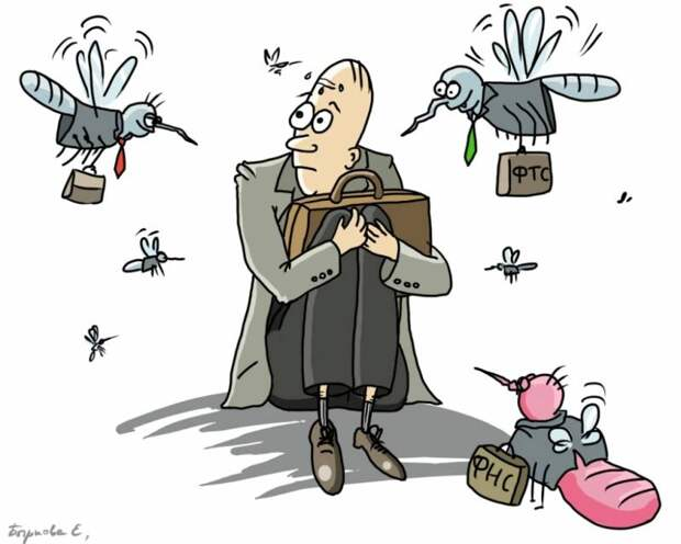 Налоговая система, убивающая предпринимательство в России