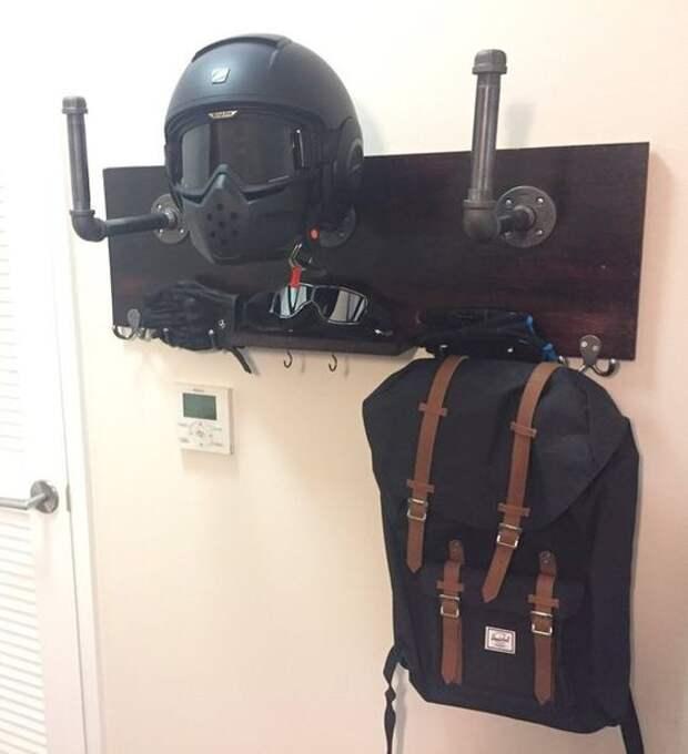 Хранение мотоциклетных шлемов (подборка)