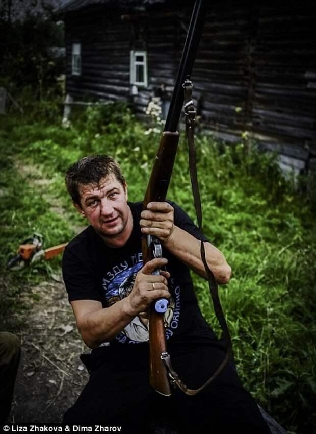 Деревенский охотник, друг Леши бомжи и пьяницы, российская глубинка