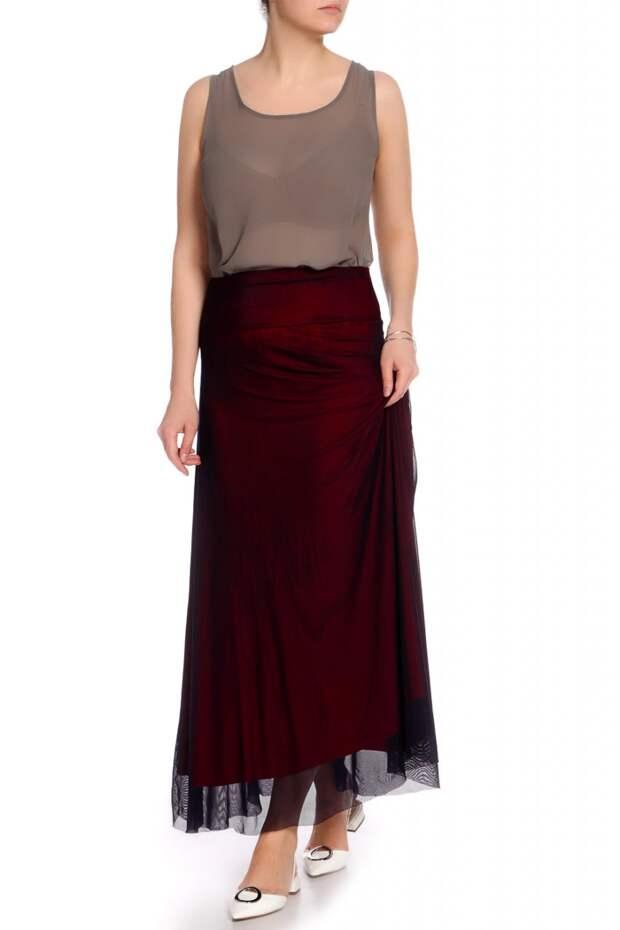 юбка из фатина модная