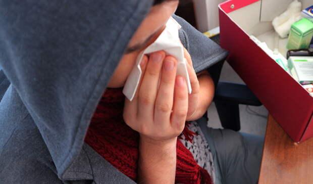 В Оренбуржье ОРВИ чаще болеют взрослые, чем дети