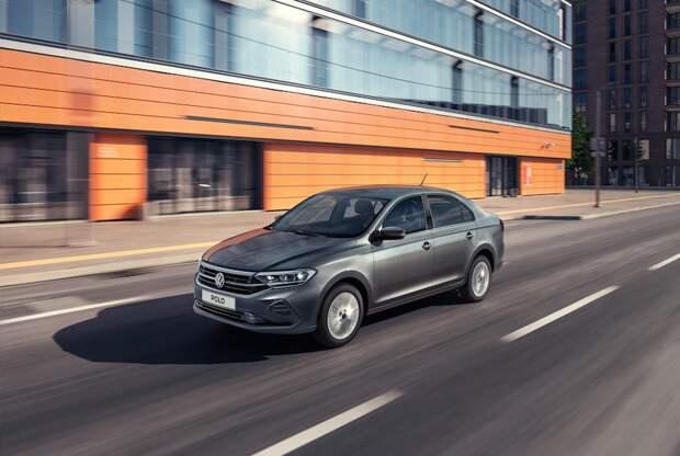 В РФ стартовали продажи Volkswagen Polo
