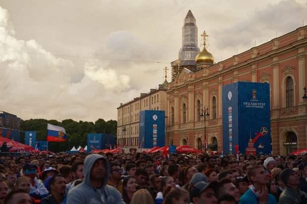 Фан-зоны чемпионата Европы в России: где лучше всего смотреть футбол