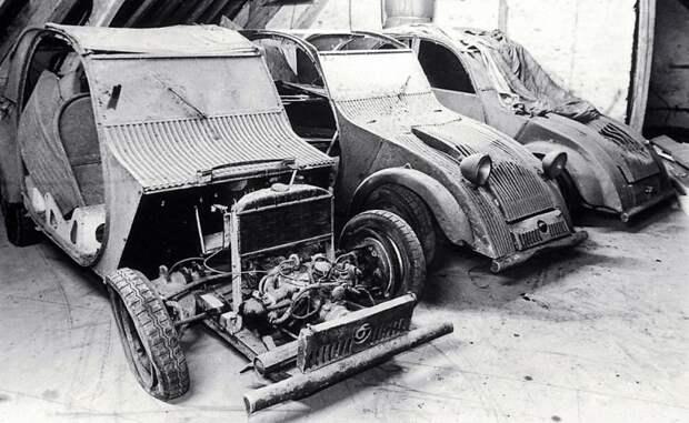 Те самые спрятанные до лучших времен прототипы TPV Citroen 2CV, citroen, авто, автомобили, олдтаймер, ретро авто, францкзкий авто