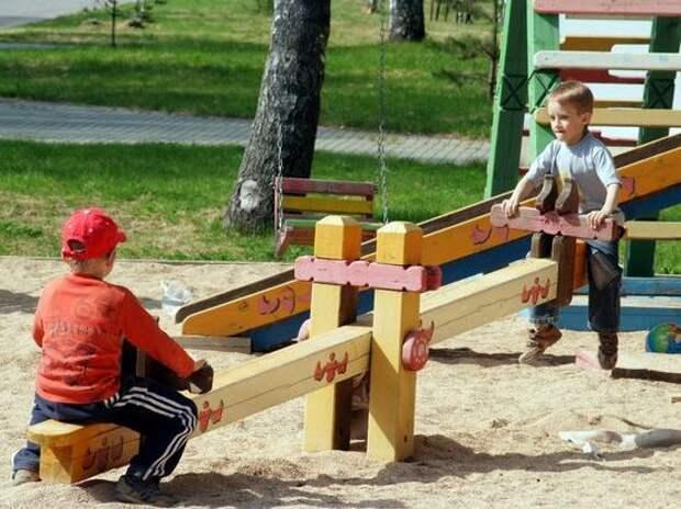 На субсидию открыли детскую площадку