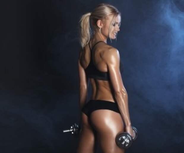 Мышцы, работающие при становой тяге с гантелями