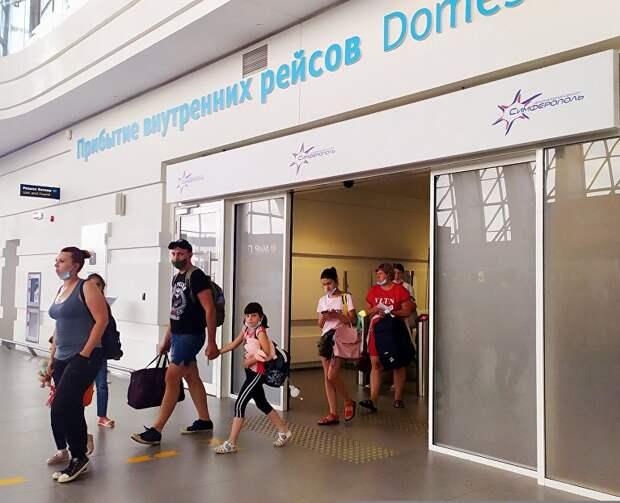 Крым стал самым популярным авианаправлением лета у жителей двух столиц