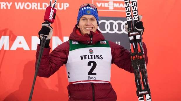 Русский лыжник наказал норвежца на финише, когда тот начал отмечать