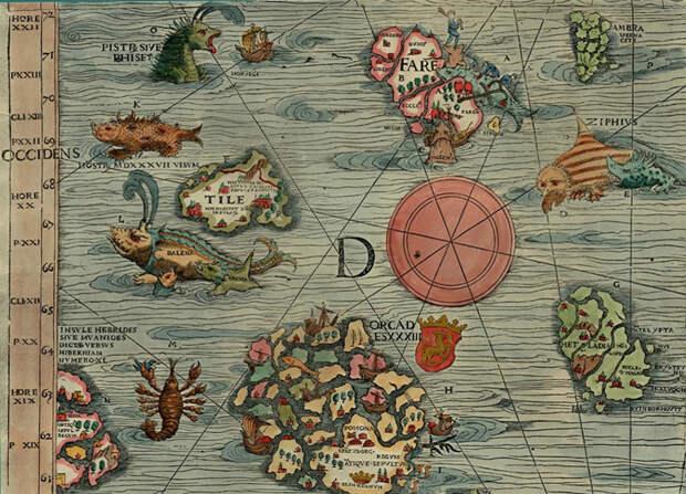 Земли-призраки, которые можно найти на карте мира