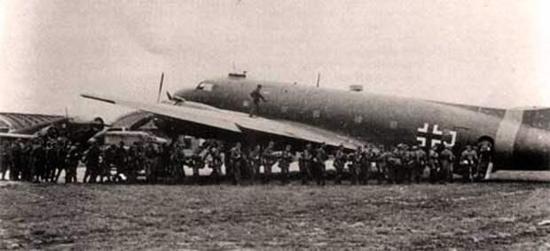 Самолет в люфтваффе