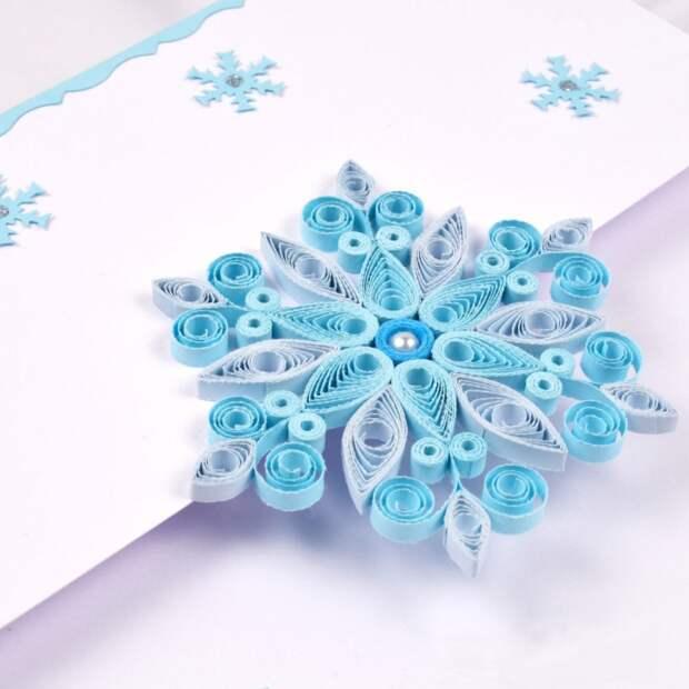 бумажные снежинки поделки с детьми