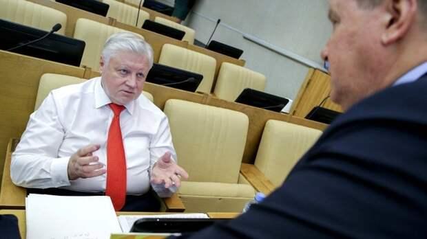Депутат Госдумы РФ Сергей Миронов