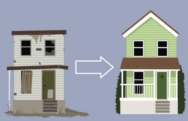 Старые постройки на даче: сносить или переделывать
