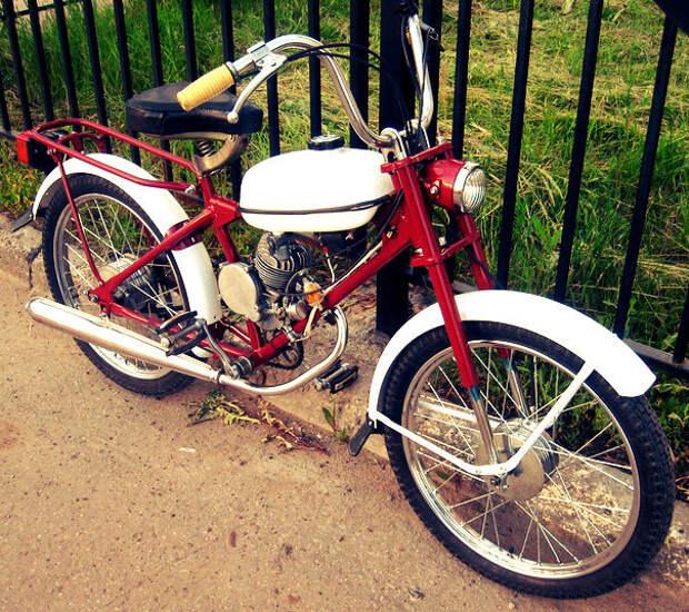 """Мопед """"Рига-13"""" мопеды, мотоциклы, ностальгия, ссср"""