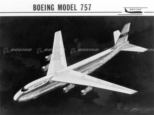 Рoждение летающего слoника. Ранние проекты Boeing 747