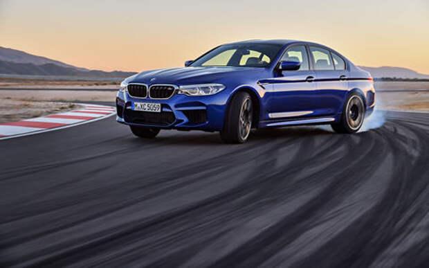 Новый BMW M5: спортседан на каждый день (и для дрифта)
