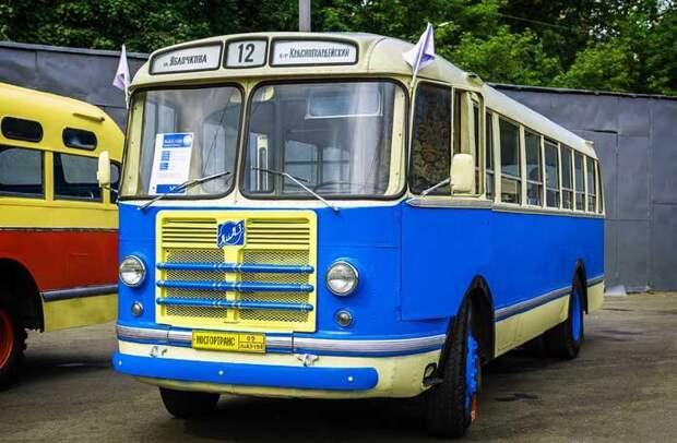 ЛиАЗ-158В автобусы, история, это интересно