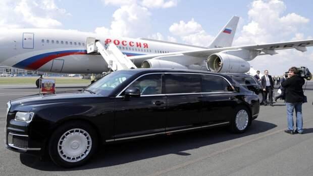 В Японии высоко оценили российский представительский лимузин Aurus Senat