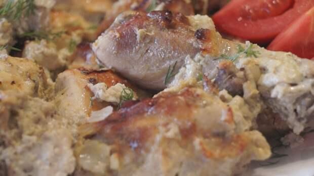 Курица в кефире. Сочная, Нежная, Вкус Изумительный!