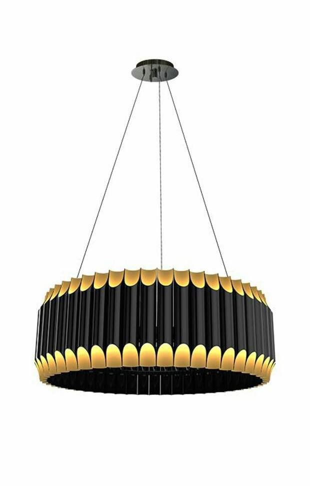 ПВА светильники из труб