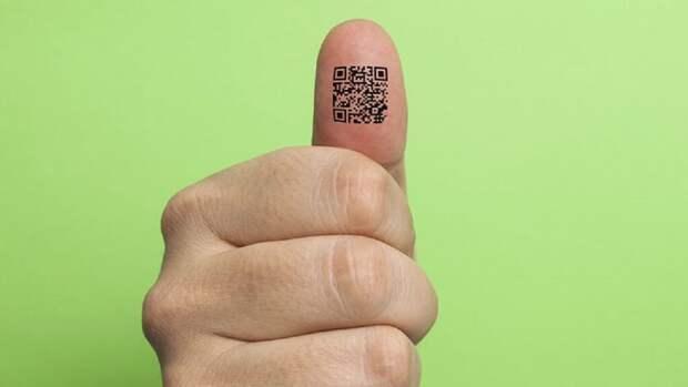 Жители Москвы смогут делать временные тату с QR-кодами