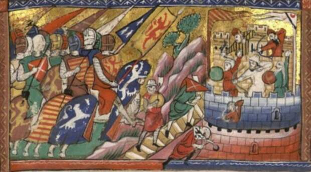 Рыцари и рыцарство трёх веков. Рыцари Аутремера, средневековых Балкан и средневековой Венгрии (3 статьи)