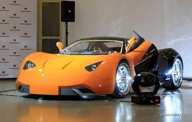Новый российский суперкар - Marussia (14 фото)