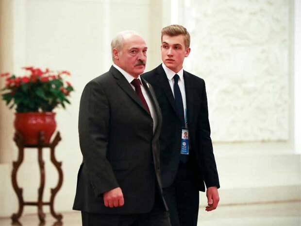 «Почему такой красивый?»: Беларусь оценила выход Лукашенко младшего