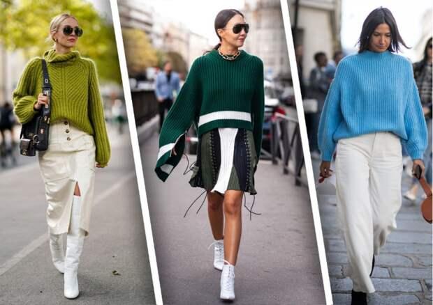 Модные женские джемпера 2022 года с фото