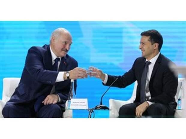 Чёрная неблагодарность. Украина открывает белорусский фронт