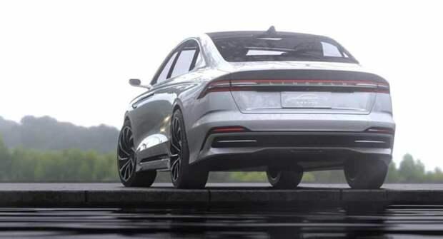 На автовыставке в Китае представлен седан Lincoln Zephyr Reflection