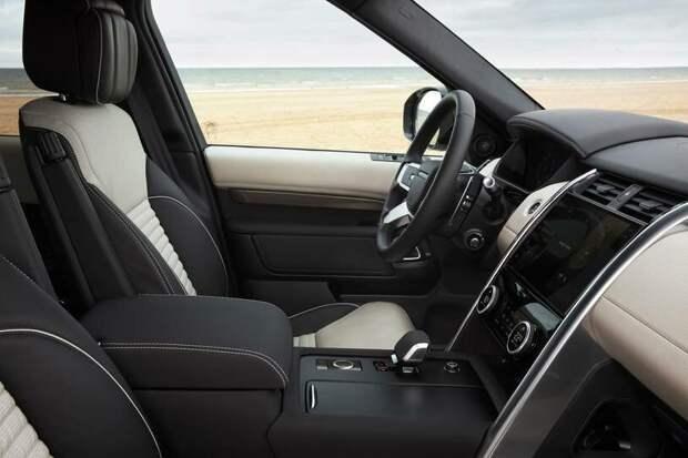 Обновленный Land Rover Discovery 2021 года