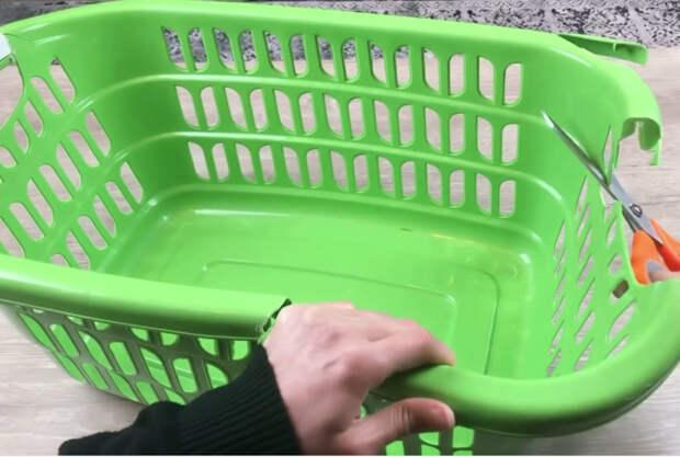 Лучшая идея по переработке, которую можно сделать со сломанной корзиной