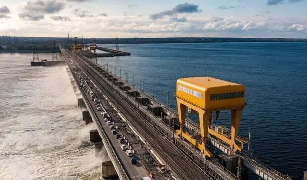 Волжская ГЭС снизила расходы воды