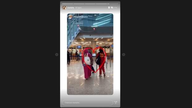 Отправившаяся на Евровидение в Роттердам Манижа показала кадры из аэропорта